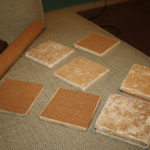 Craft: Tile Picture Coasters