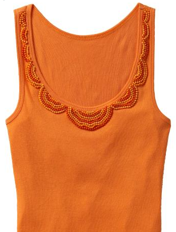 Beaded tank top dixie diy for Cost to tailor a shirt