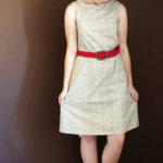Mad Men inspired shift dress
