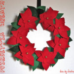 Dixie DIY Christmas: Poinsettia Wreath