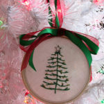 Dixie DIY Christmas: Embroidered Ornament