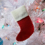 Dixie DIY Christmas: Felt Stocking Ornament