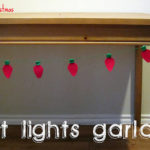 Felt Lights Garland