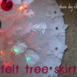Dixie DIY Christmas: Felt Tree Skirt
