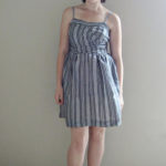 Cynthia Rowley Botched Striped Dress(Simplicity 2250)