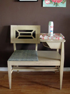 1950s Chair with table