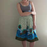 Dress to Skirt Restyle