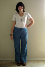 70s Jeans – Vintage Pattern with Modifications