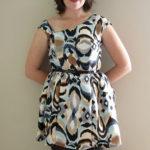 Cute Cocktail Dress Disaster – Burda 7514