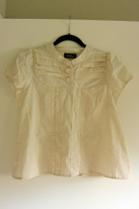 Dress to Blouse Restyle After