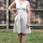 Sparkly Linen Dress