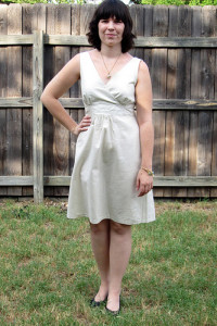 New Look 6774 Linen Dress