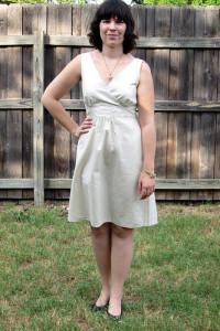 New Look 6774 Linen Dress