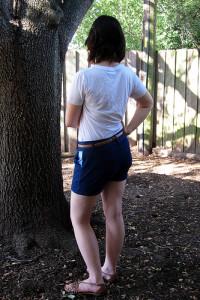 Recycled Denim Shorts