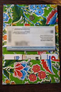 Oilcloth Wallet