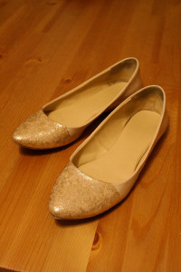 Gold shoe restyle