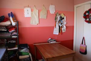 Painted Craft Room