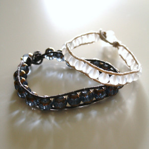 Wraped Bead Bracelet