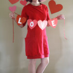 Victory Patterns' Lola Dress, or, red hot Valentine's love!