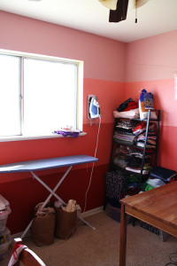 Painted Craft Room