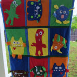 A Monster Quilt in more ways than one, McCall 6411