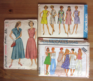 Vintage Patterns for Giveaway