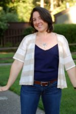 Summer Concert Tee to Cardigan (Guest Post by Lizz of A Good Wardrobe)