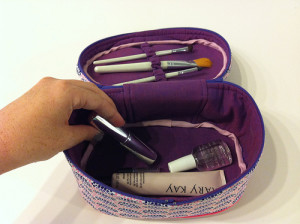 Train-Style Vanity Case from A Bag for All Reasons