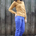 DIY Dyed and Skinnified Jeans