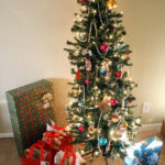 Holiday Ornament Exchange – the tree!