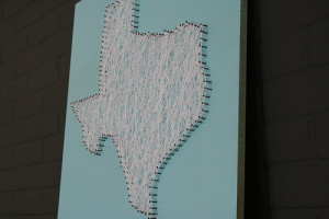 Texas String Art
