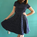 Self Drafted Cut-out dress