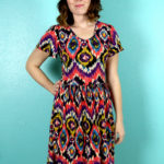 Sew Caroline's Out and About Dress for Sewing Indie Month