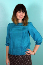 Tilly and the Buttons' Modified Mathilde Blouse