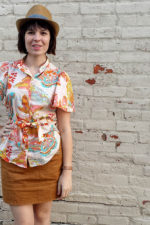 Built By Wendy Shirt, Simplicity 4112