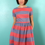 Big Stripe Emery Dress