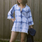 30 Days of Sundresses – Indigo Dyed Beach Cover Up