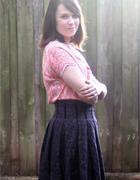 Sparkly Box Pleat Skirt