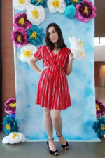 Red Rayon McCall's 7381
