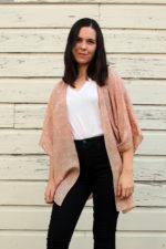 Silk Sari Turned Kimono + Tutorial