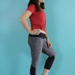 Sewaholic Pacific Leggings, McCall's 7446 Leggings, Simplicity 1463 Top