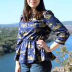 BurdaStyle Book Blouse – Travel Print