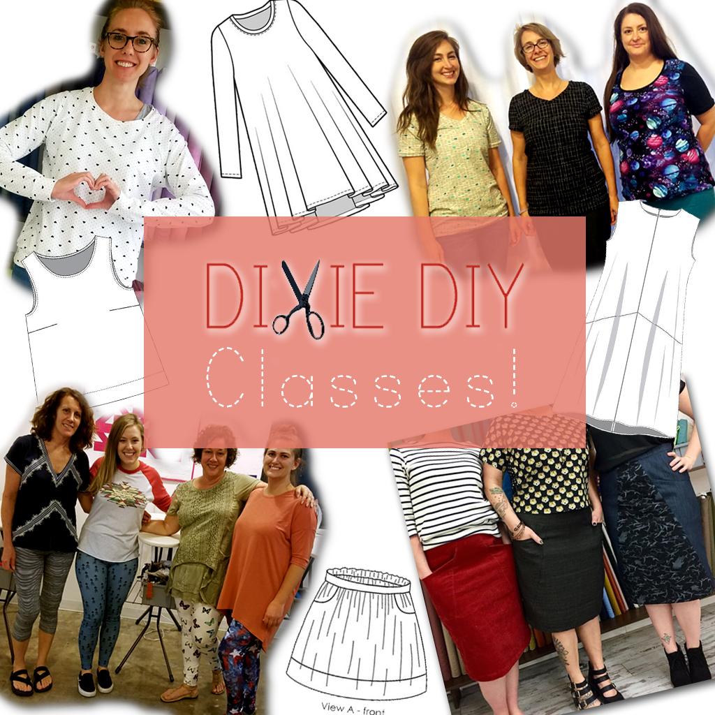 Dixie DIY Classes