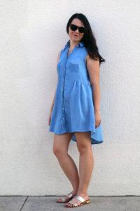 Lyocell Grainline Adler Dress