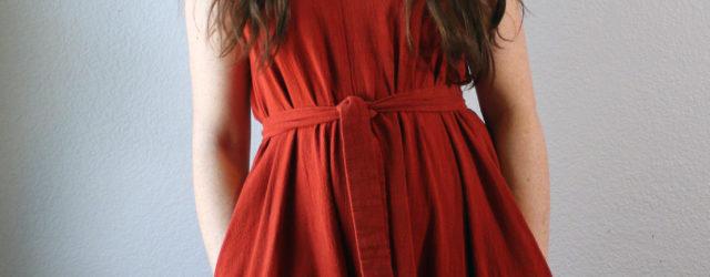 Viscose Linen Sway Dress