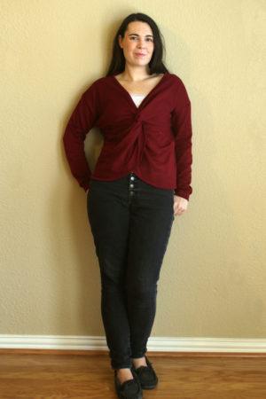 Papercut Aomori Twist Sweater