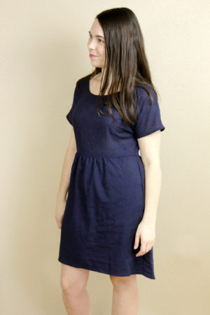Navy Fancy Tiger Crafts Fen Dress