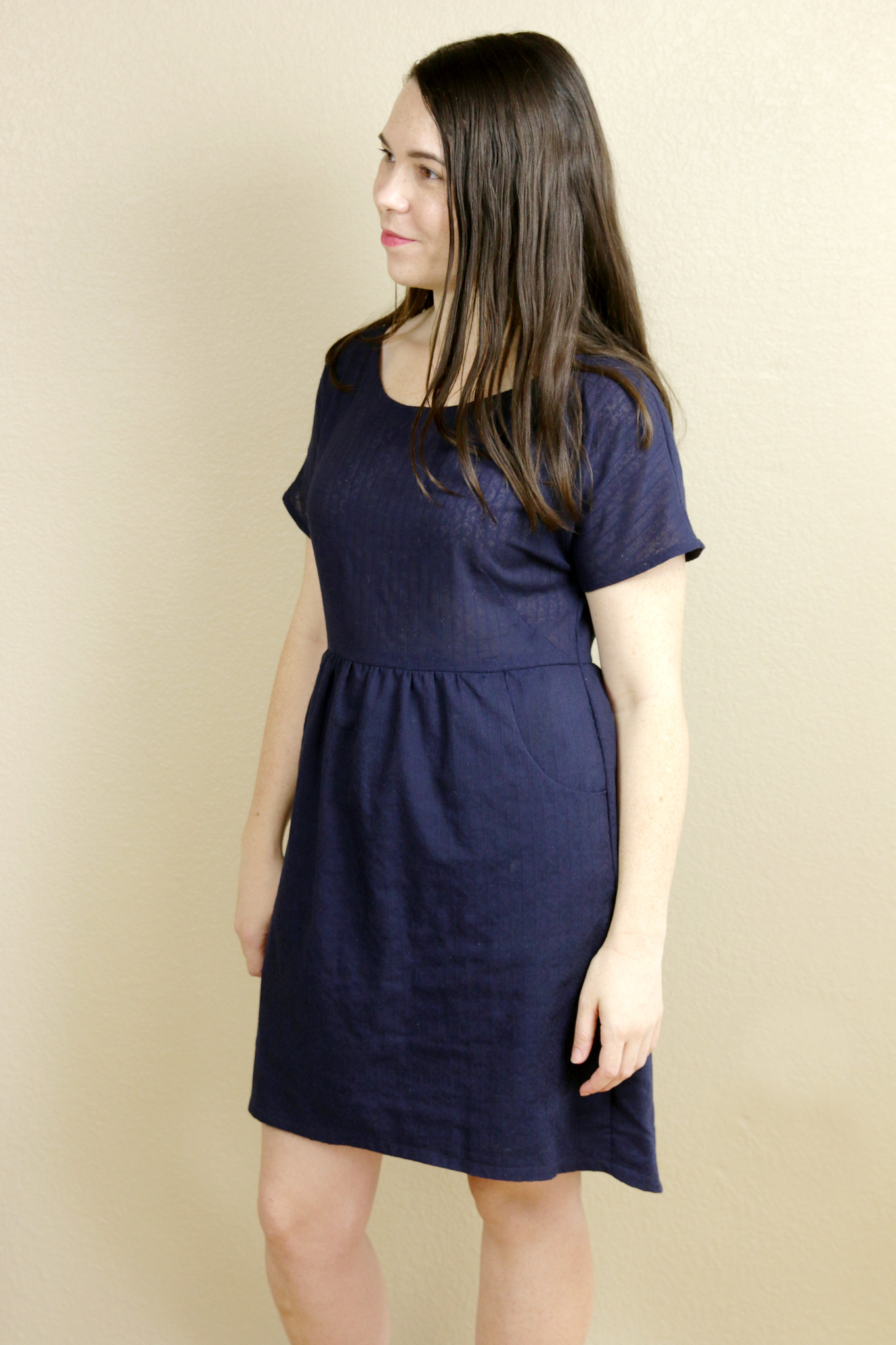 Navy Stripe Fancy Tiger Crafts Fen Dress