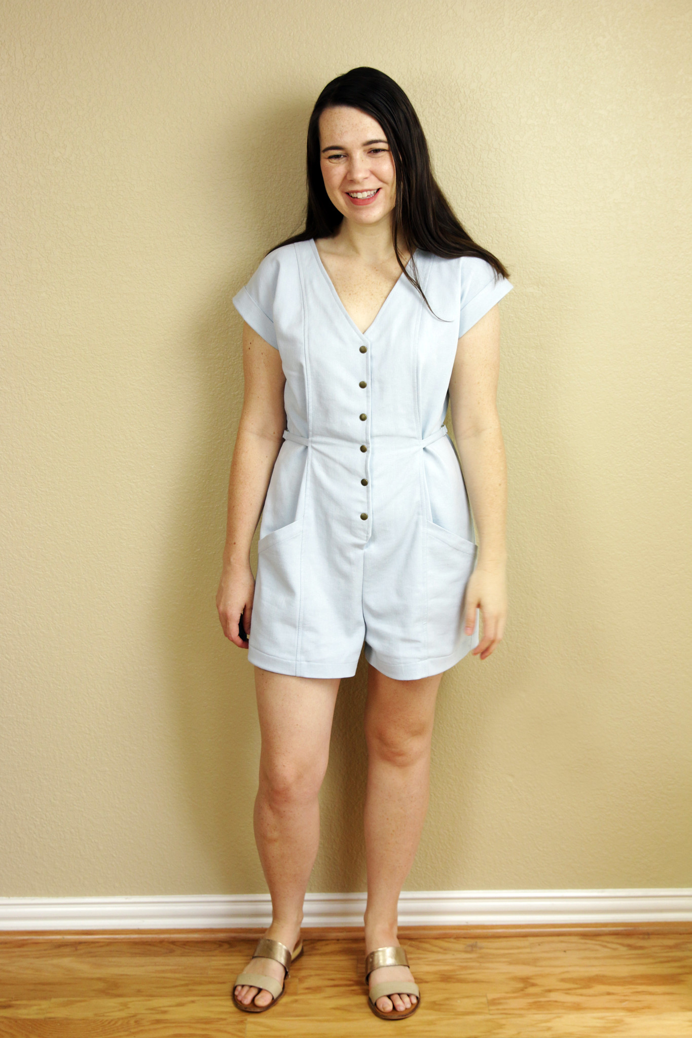 Tencel Denim True Bias Yari Jumpsuit