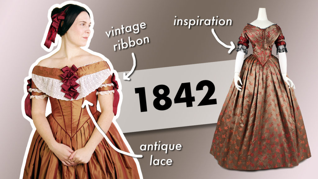 1840s Ball Gown